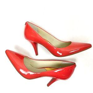 Michael Kors Dorothy Red Heels Sz 11 NWT